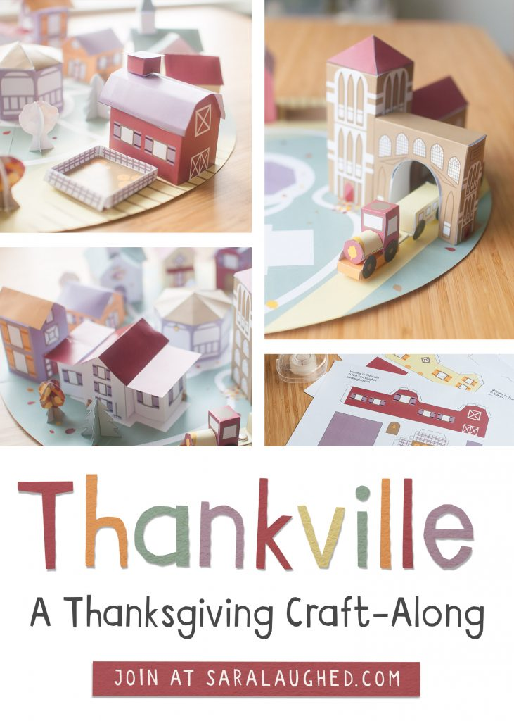 Join Thankville, a Thanksgiving craft-along for the whole family!